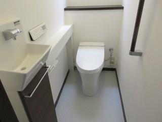 戸建てのトイレリフォーム